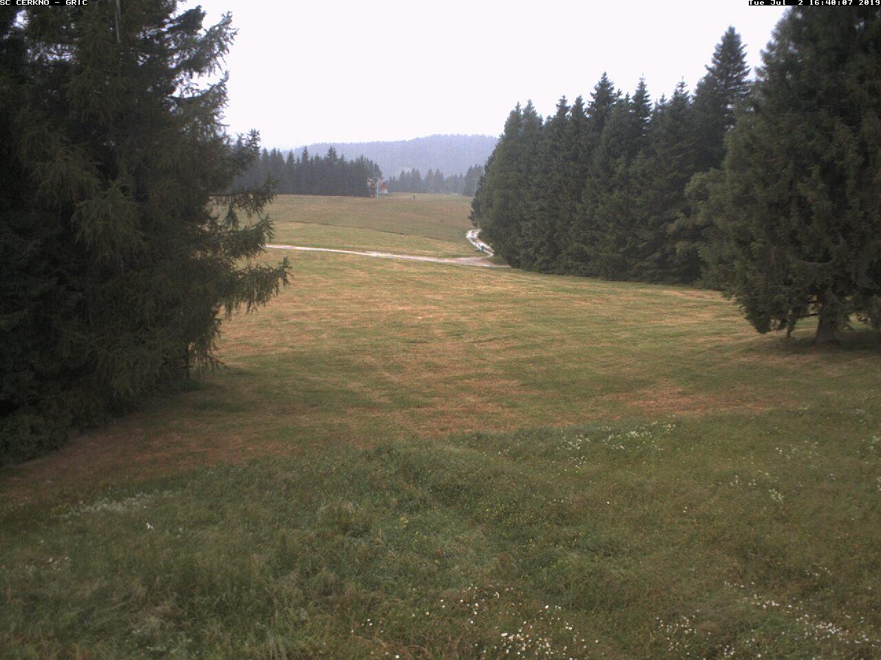 Camera ski track Grič